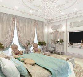 ديكور غرفة نوم فيلا سعودى رائع