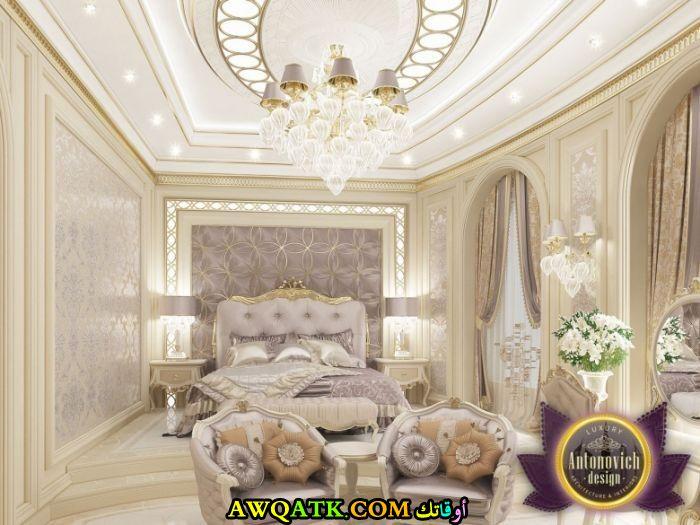 ديكور غرفة نوم فيلا سعودي فخم جداً وشيك