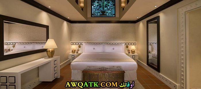 ديكور غرفة نوم فيلا سعودي انيق وجميل