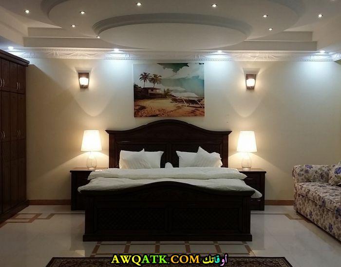 ديكور غرفة نوم فيلا سعودى حلو جداً