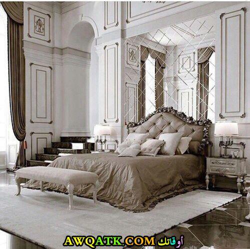 غرفة نوم فيلا فخمة جداً وتناسب الذوق الراقي