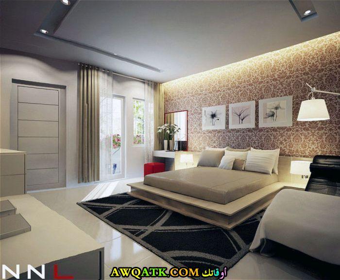 غرفة نوم فيلا فخمة وجديدة