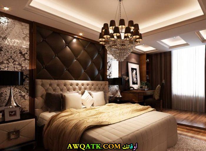 غرفة نوم فيلا فخمة فى منتهى الجمال