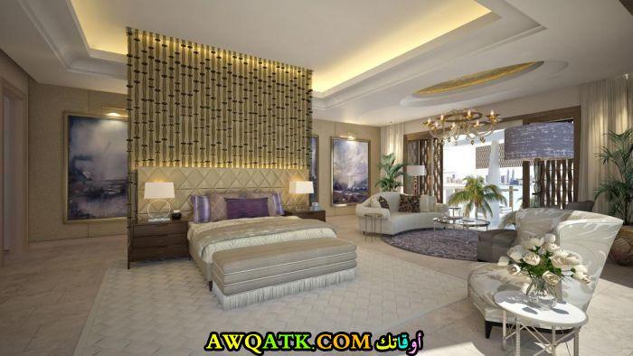 غرفة نوم فيلا فخمة ورائعة