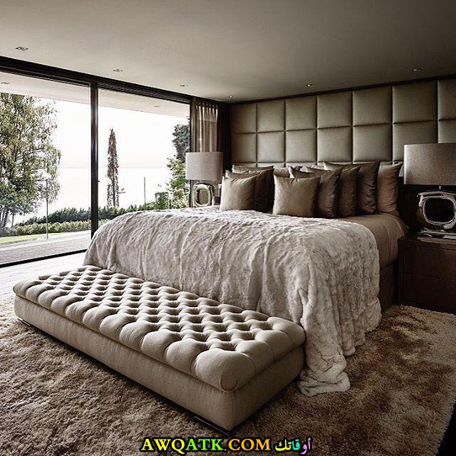 غرفة نوم فيلا فخمة جداً وجديدة
