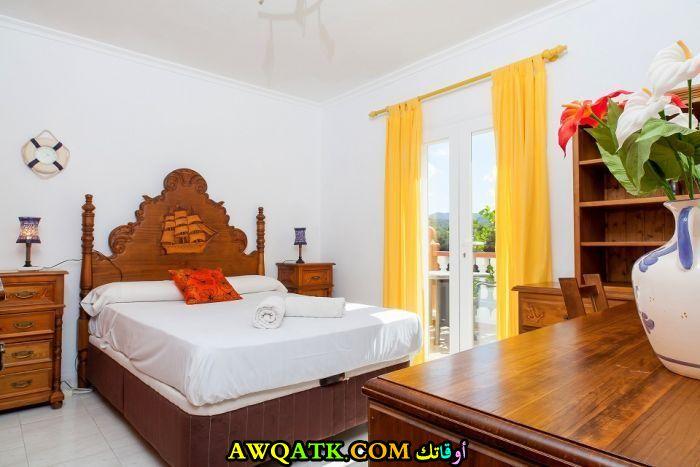 غرفة نوم فيلا كلاسيك رائعة