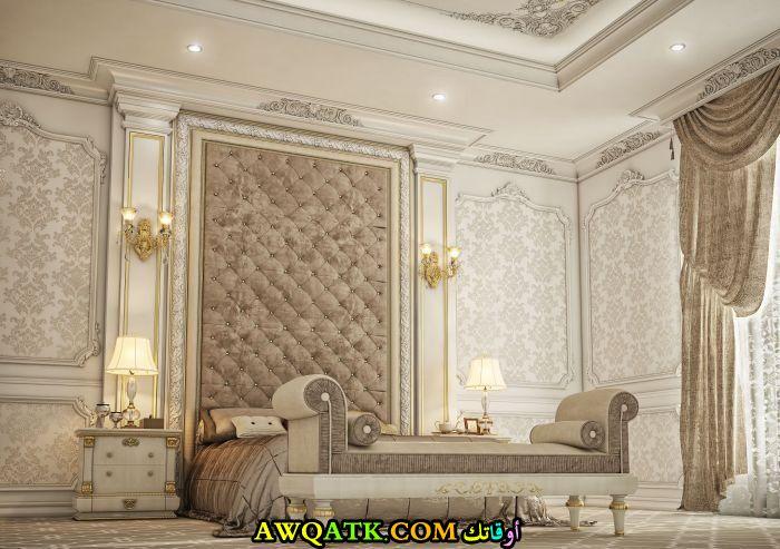 غرفة نوم فيلا كلاسيك حلوة جداً شيك