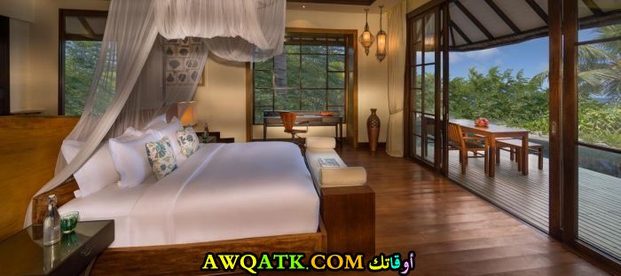 ديكور غرفة نوم فيلا كويتي جميل وبسيط