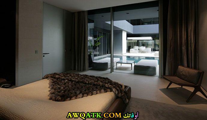 ديكور غرفة نوم فيلا كويتي حلو جداً
