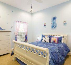 ديكور غرفة نوم فيلا للأطفال يناسب الذوق الراقي