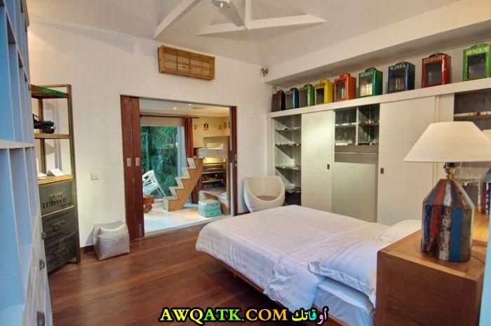 ديكور غرفة نوم فيلا للأطفال بسيط جداً