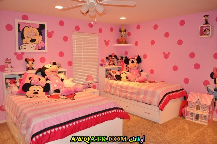 غرفة نوم فيلا للبنات حلو جداً