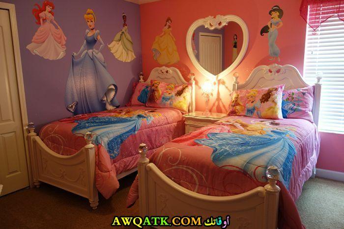 غرفة نوم فيلا للبنات قمة فى الشياكة