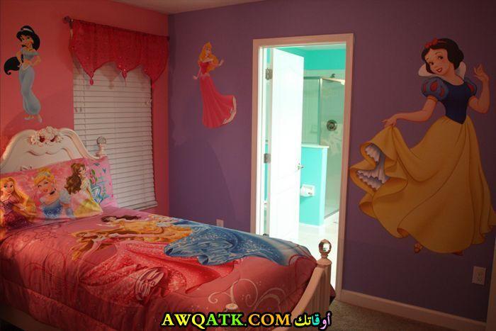 غرفة نوم فيلا للبنات حلوة جداً 2018