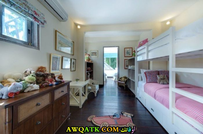 غرفة نوم فيلا للبنات مودرن وشيك