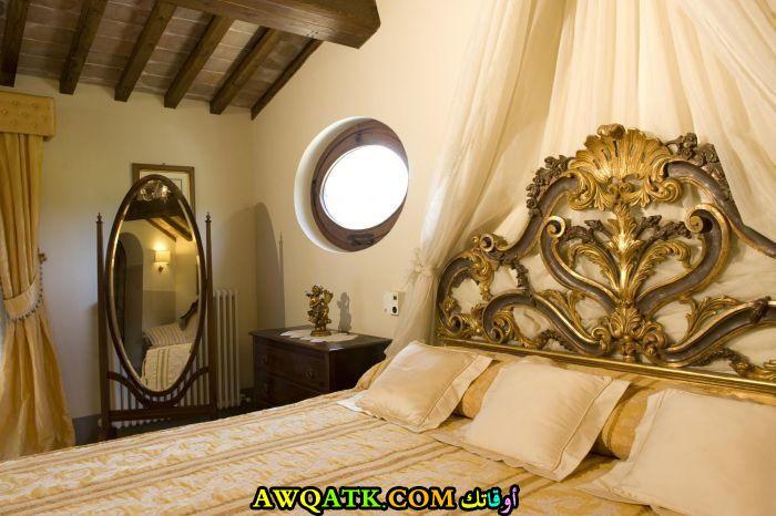 غرفة نوم فيلا للعرسان جميلة جداً