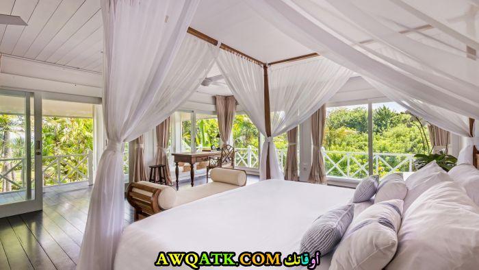 غرفة نوم فيلا للعرسان تناسب الذوق الراقي