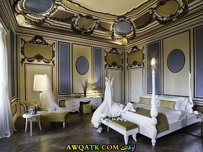 غرفة نوم فيلا للعرسان قمة في الجمال والشياكة