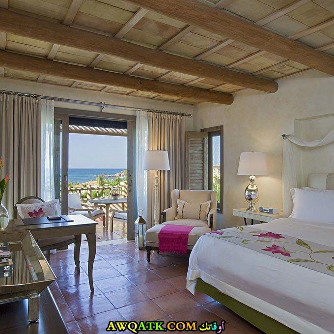غرفة نوم فيلا للعرسان جديدة وعصرية