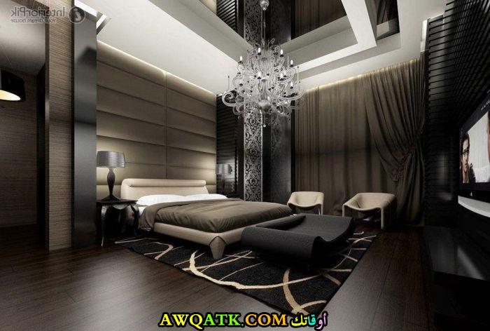 ديكور غرفة نوم فيلا مودرن فى منتهى الجمال والروعة