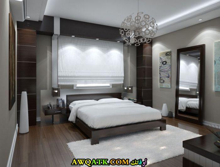 ديكور غرفة نوم فيلا مودرن فى منتهى الجمال