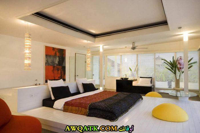 ديكور غرفة نوم فيلا مودرن يناسب الذوق الهادي