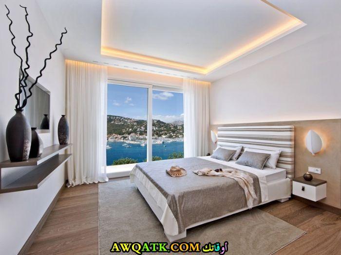 ديكور غرفة نوم فيلا مودرن قمة فى الشياكة