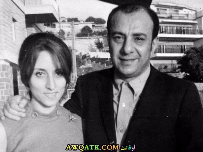 صورة الفنانة فيروز وزوجها