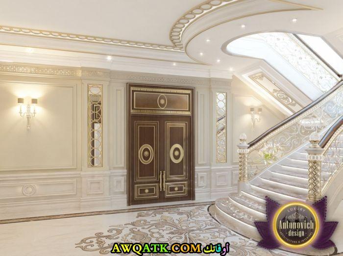 مدخل فيلا سعودي يناسب الذوق الرقي