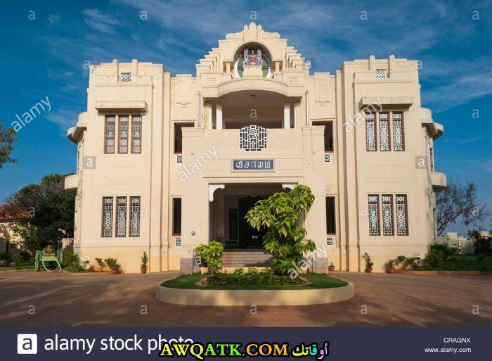 واجهة قصر بتصميم فى منتهى الجمال