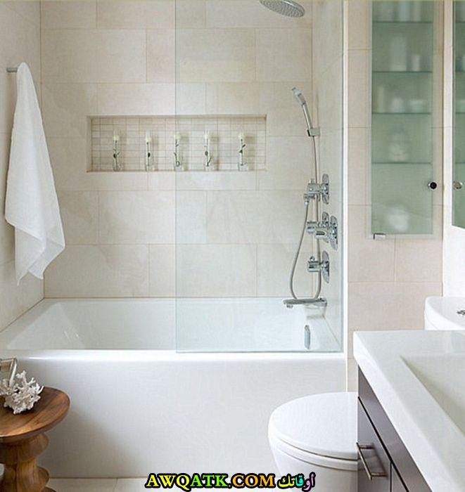 ديكور حمام مودرن بسيط