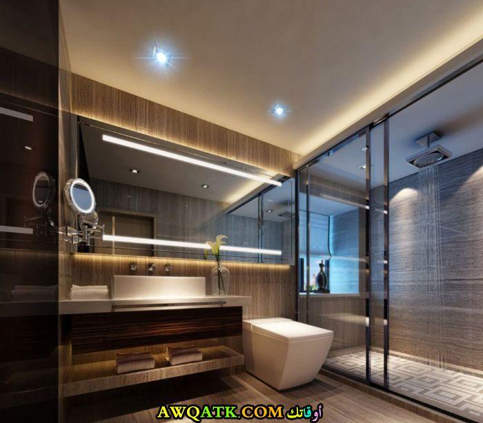 ديكور حمام مودرن يناسب الذوق الراقى