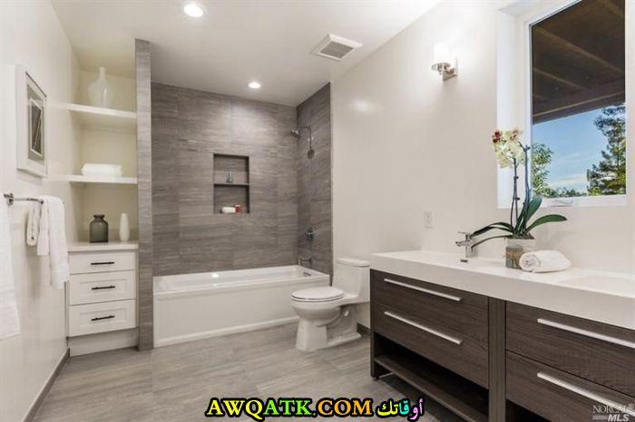 حمام مودرن حديث ورائع