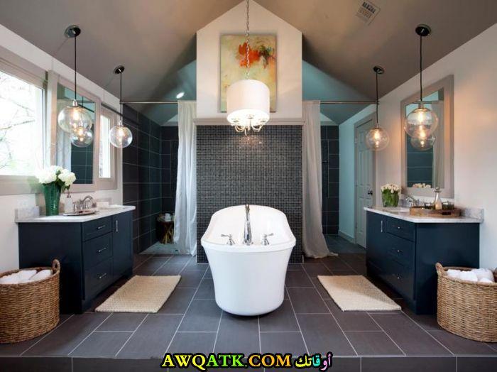 ديكور حمام جاكوزى فخم جداً وشيك