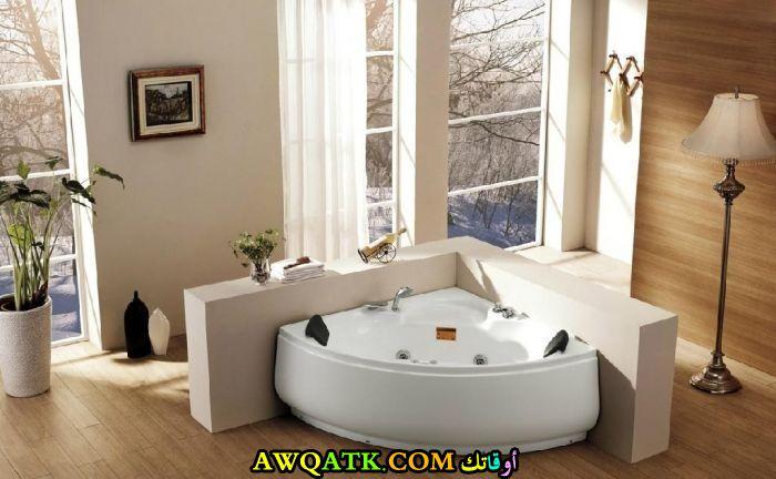 ديكور حمام جاكوزى فى منتهى الجمال