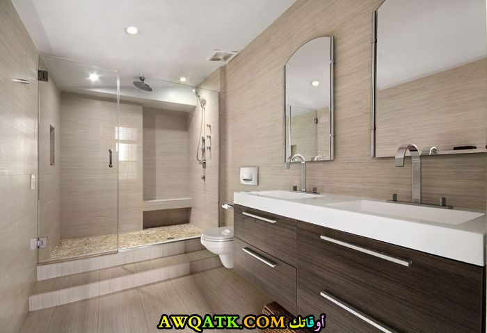 ديكور حمام حديث جديد ومودرن
