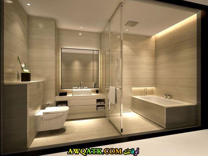 ديكور حمام حديث وفي منتهي الجمال