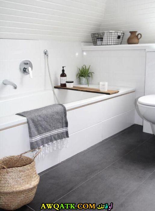 ديكور حمام حديث قمة الهدوء والرقي