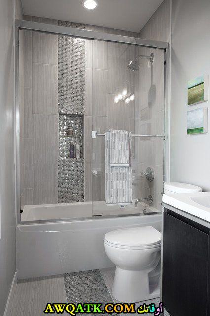 ديكور حمام مصري صغير رائع