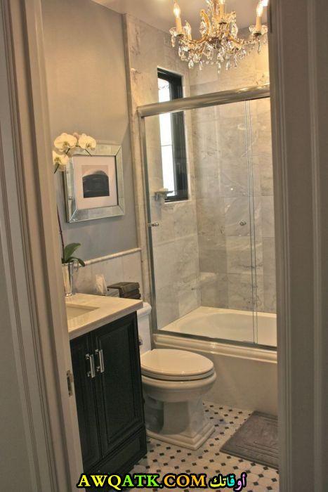 ديكور حمام مصري صغير جميل ورائع