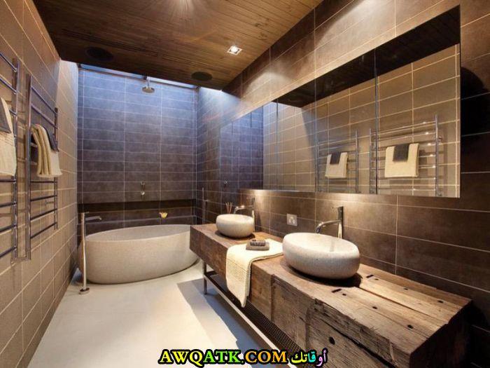 ديكور حمام مودرن عالمي جميل جداً