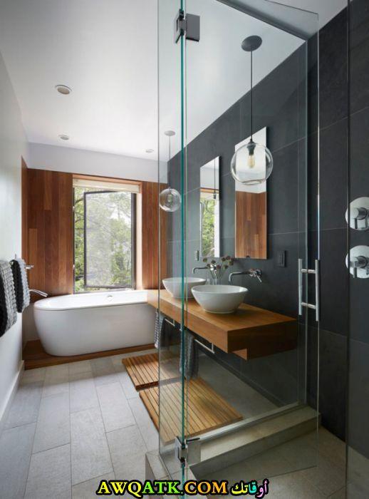 ديكور حمام مودرن عالمي جديد