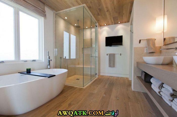 ديكور حمام مودرن عالمي عصري وجديد