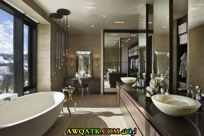 ديكور حمام مودرن عالمي قمة في الشياكة