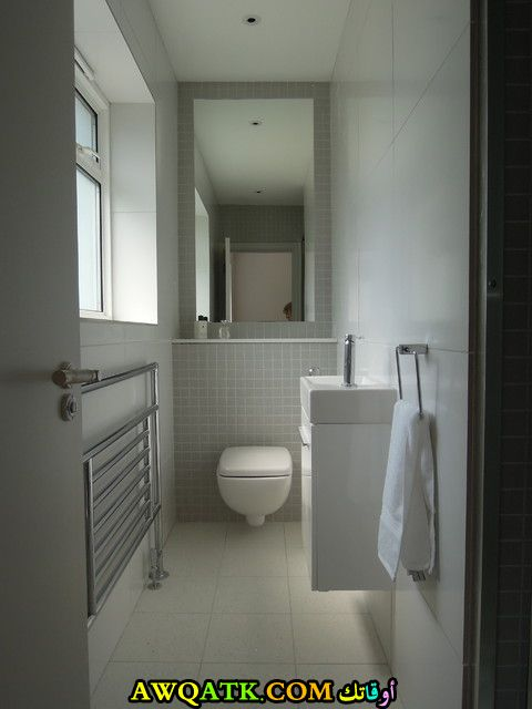 ديكور حمام مودرن عالمي شيك جداً