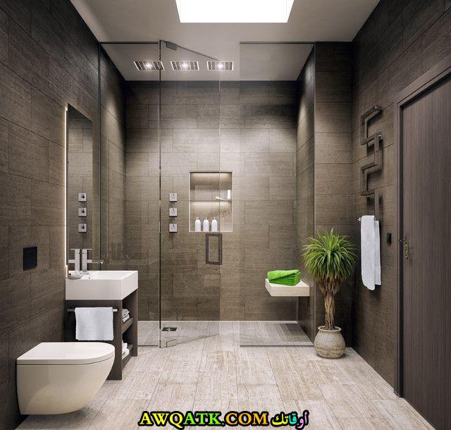 ديكور حمام مودرن عالمي أنيق وجميل