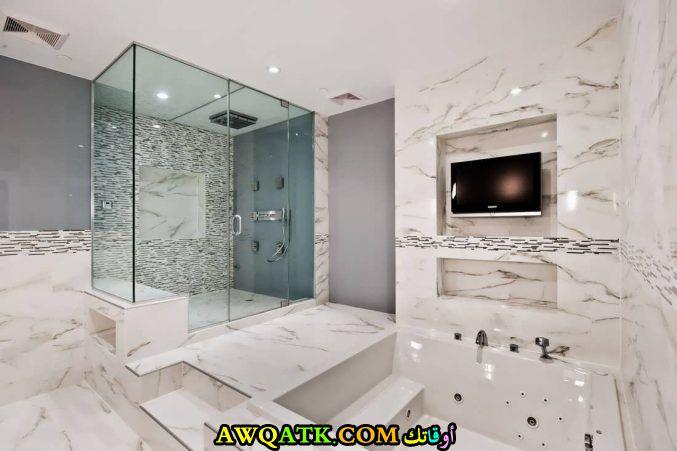 ديكور حمام مودرن عالمي روعة وشيك