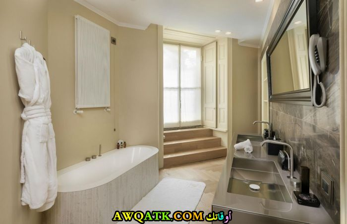 ديكور حمام فنادق خمس وسبع نجوم هادى وجميل