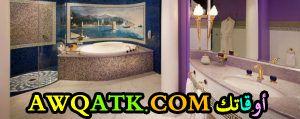 ديكورات حمامات فنادق خمس نجوم و سبع نجوم