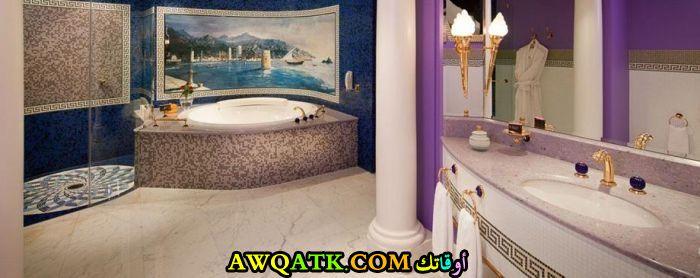 ديكور حمام فنادق خمس وسبع نجوم روعة وشيك